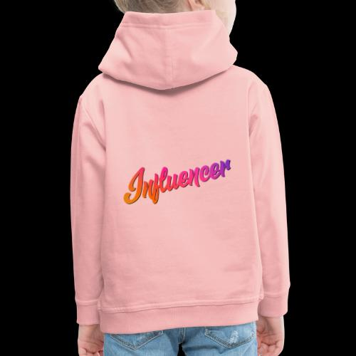 Influencer Instagram Youtube Youtuber - Kinder Premium Hoodie