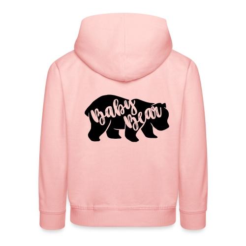 Baby Bear - für Eltern-Baby-Partnerlook - Kinder Premium Hoodie