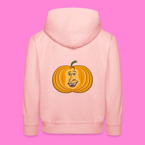 Rick pumpkin - Kinderen trui Premium met capuchon