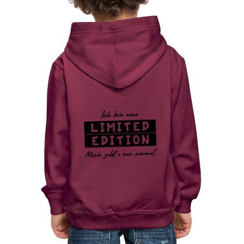 ich bin eine limit edition - Kinder Premium Hoodie