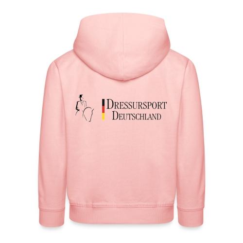 dressursport deutschland horizontal - Kinder Premium Hoodie