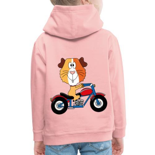 MEERSCHWEINCHEN - MOTORRAD - BIKER - MOTORSPORT - Kinder Premium Hoodie