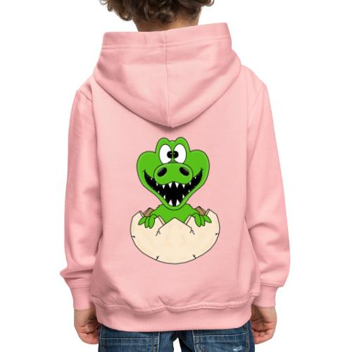 KROKODIL - GEBURT - BABY - TIER - KIND - EI - Kinder Premium Hoodie