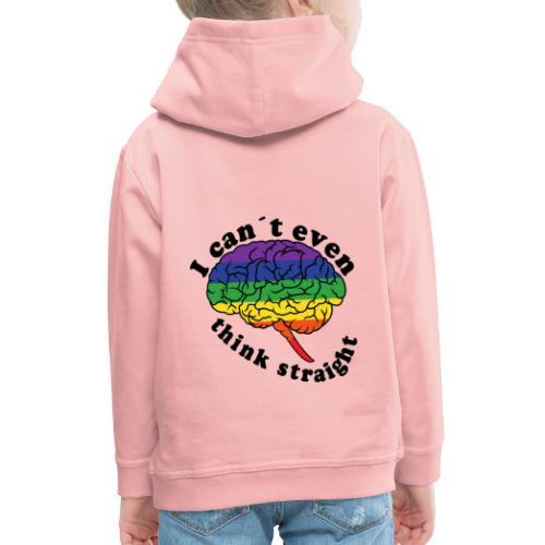 Ich kann nicht einmal klar denken | LGBT - Kinder Premium Hoodie