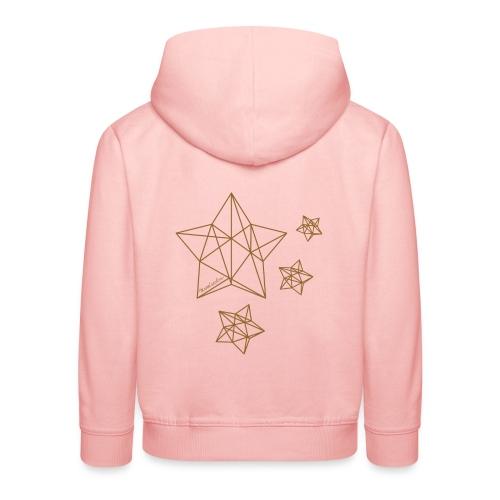Sternenhimmel Diamant - Kinder Premium Hoodie