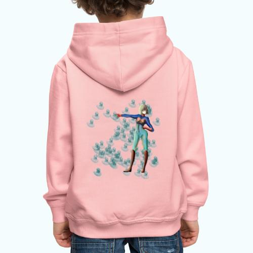 WOMAN POWER - Kids' Premium Hoodie