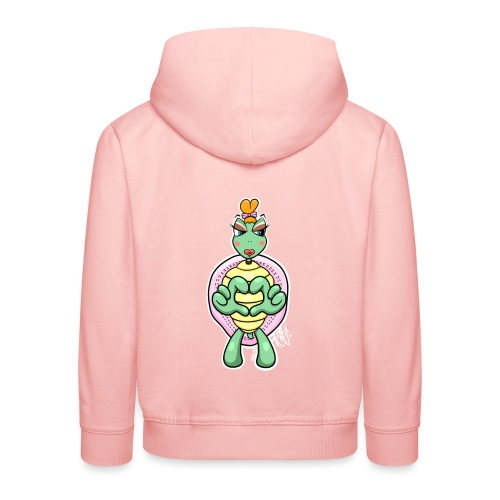 Girlie Turtle/ Schildkröte - Kinder Premium Hoodie