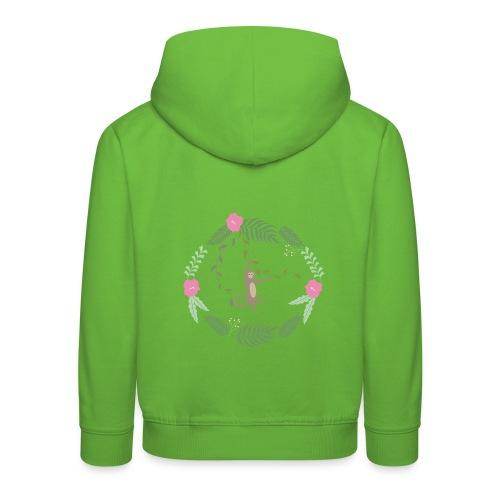 Mikey monkey - Felpa con cappuccio Premium per bambini