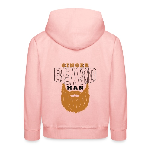 Beard Ginger Beard Man Redhead Gifts For Men - Kinder Premium Hoodie