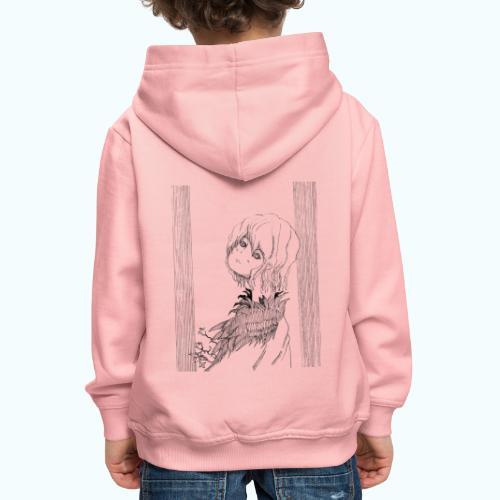 MANGA DIVA real drawing - Kids' Premium Hoodie