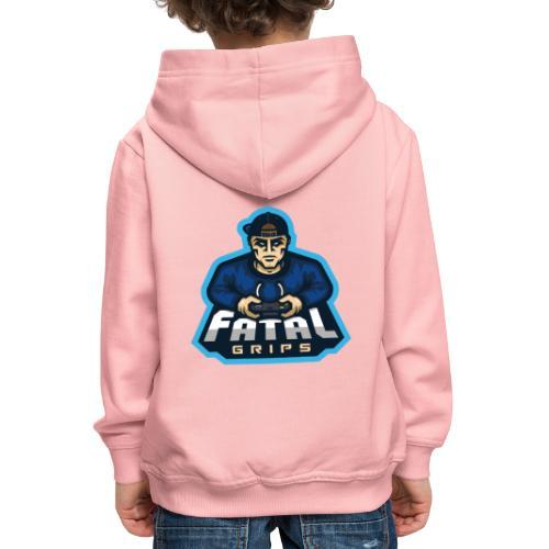 Fatal Grips Merch - Premium-Luvtröja barn