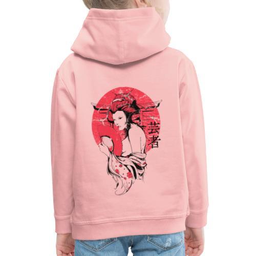 Japan Sonne - Kinder Premium Hoodie