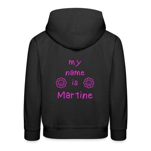 MARTINE MY NAME IS - Pull à capuche Premium Enfant