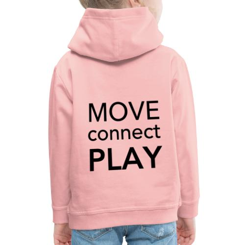Move Connect Play - AcroYoga International - Kids' Premium Hoodie