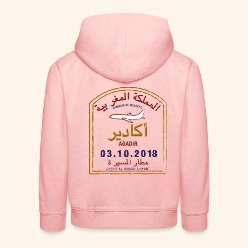 Agadir - Pull à capuche Premium Enfant