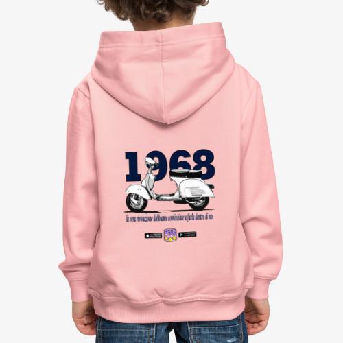 rivoluzione - Felpa con cappuccio Premium per bambini