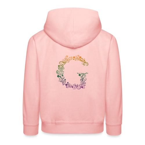 G wie Garten - Kinder Premium Hoodie