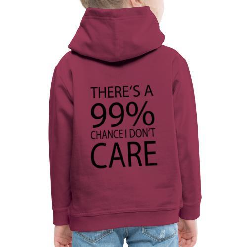 Ist mir egal lustiges Design Sarkasmus - Kinder Premium Hoodie