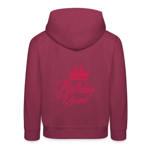 birhtday logo - Pull à capuche Premium Enfant