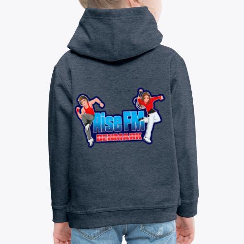 Rise FM Logo - Kids' Premium Hoodie