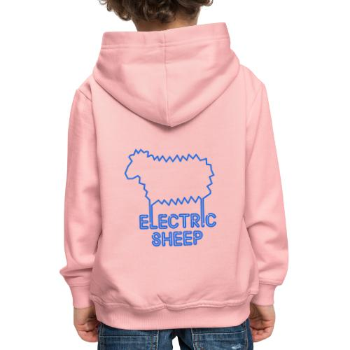 Electric Sheep Emblem - Kids' Premium Hoodie