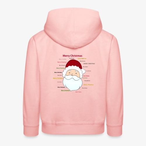 pere noel Merry x mas - Kids' Premium Hoodie