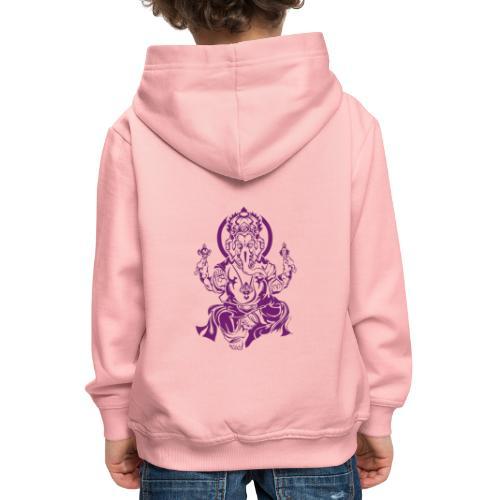 Ganesha Glücksgott - Kinder Premium Hoodie