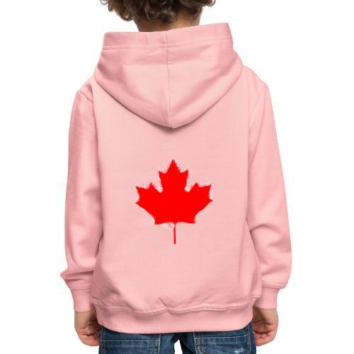 Maple Leaf - Kids' Premium Hoodie