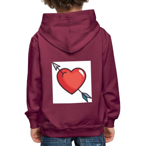 Emoji Team logo - Kids' Premium Hoodie