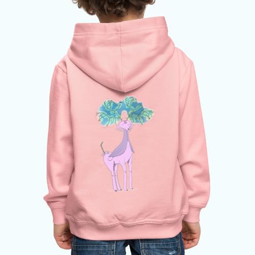 Multi Horn No Unicorn - Kids' Premium Hoodie