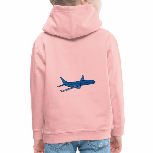 L'avion ! - Pull à capuche Premium Enfant