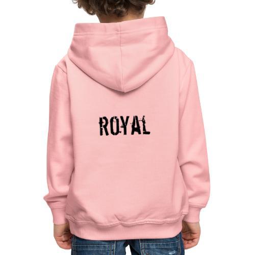 RoyalClothes - Kinderen trui Premium met capuchon