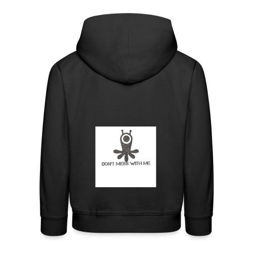 Dont mess whith me logo - Kids' Premium Hoodie