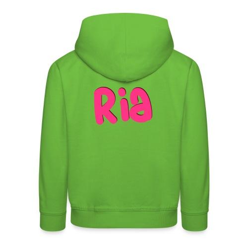 Ria Roo 3D - Kids' Premium Hoodie