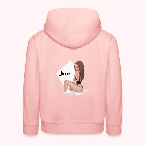 Brunette Girl - Felpa con cappuccio Premium per bambini