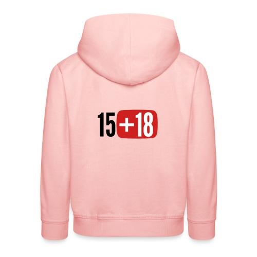 1518 - Felpa con cappuccio Premium per bambini