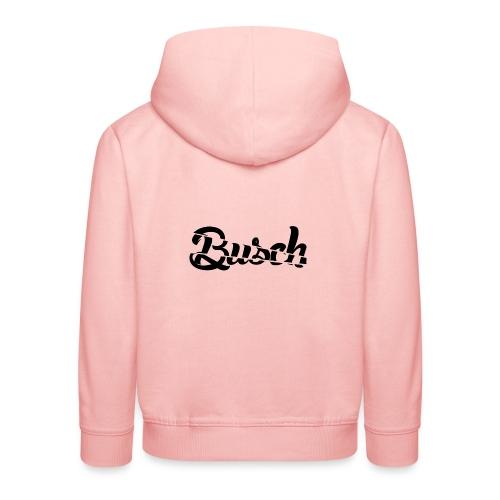 Busch shatter black - Kinderen trui Premium met capuchon