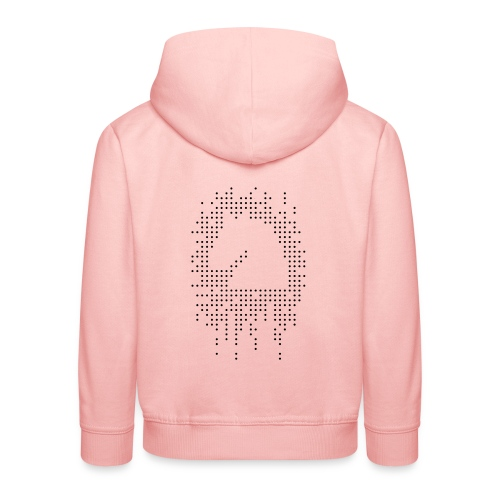 Knight and Dots Inverted - Kids' Premium Hoodie