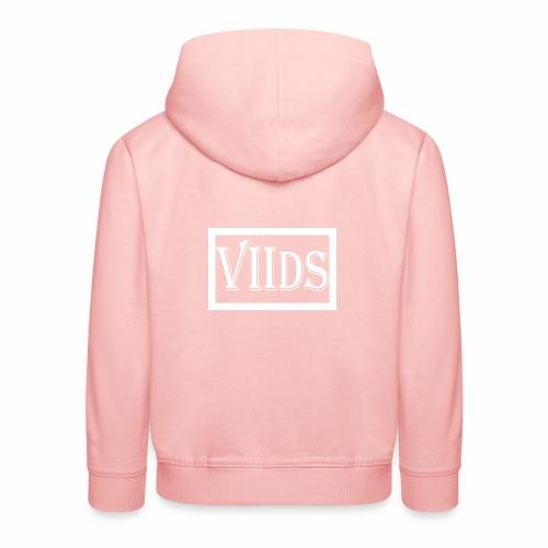 Viids logo - Bluza dziecięca z kapturem Premium