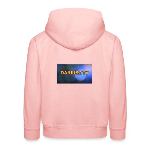 DARIUSZ TV - Bluza dziecięca z kapturem Premium