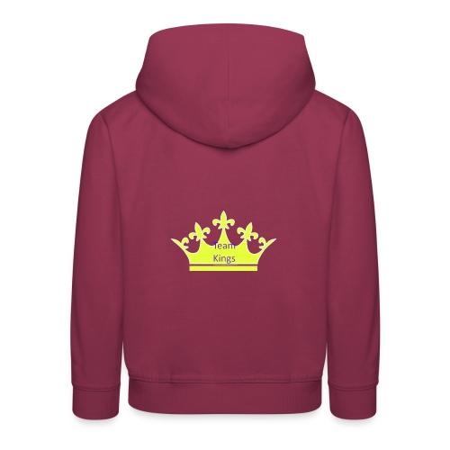 Team King Crown - Kids' Premium Hoodie