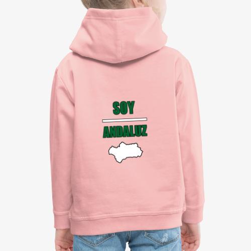 Soy Andaluz - Sudadera con capucha premium niño