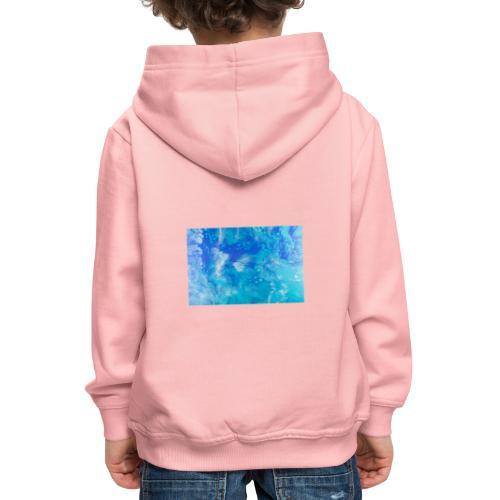 onde - Felpa con cappuccio Premium per bambini