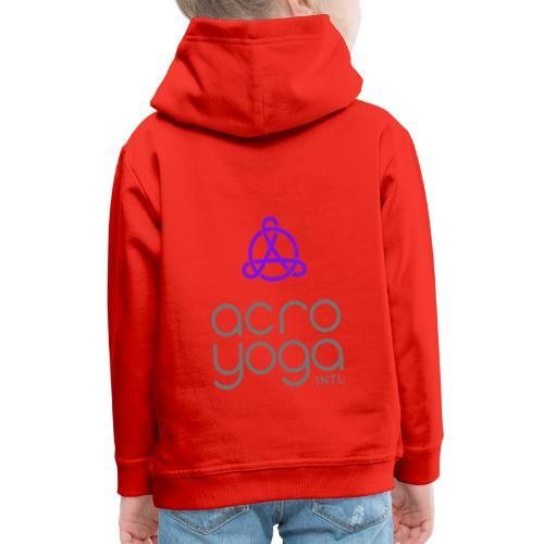 AcroYoga International Logo - Kids' Premium Hoodie