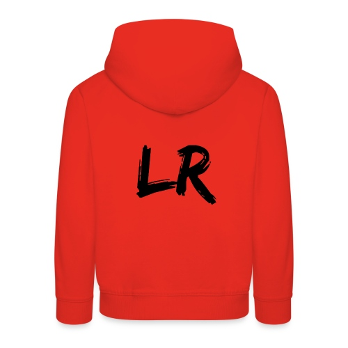 LiamRusso Logo Zwart - Kinderen trui Premium met capuchon