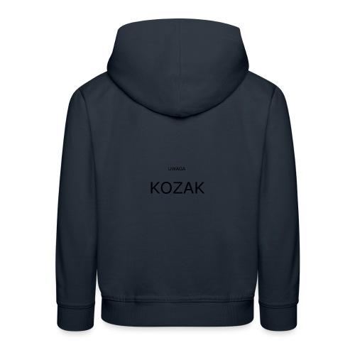 KOZAK - Bluza dziecięca z kapturem Premium