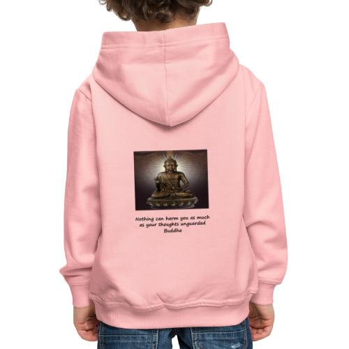 Thoughts Can Harm. - Kids' Premium Hoodie