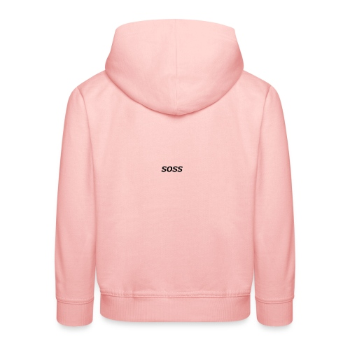 SOOS - Bluza dziecięca z kapturem Premium