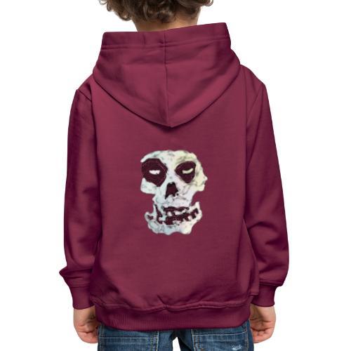 Weird Out Skull - Premium-Luvtröja barn