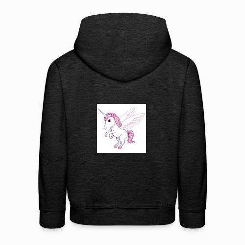 Petite licorne rose super mignonne!! - Pull à capuche Premium Enfant